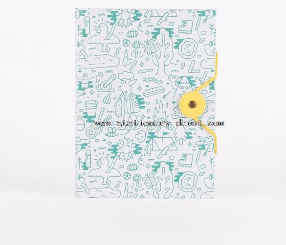 Diary Filler Notebook With Elastic Strap