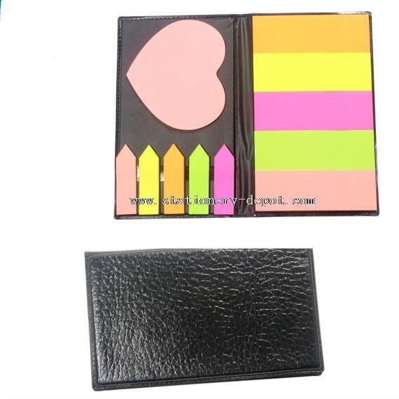 novely shaped sticky note pad