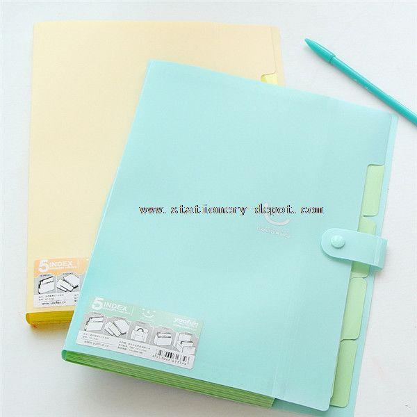 waterproof plastic document case