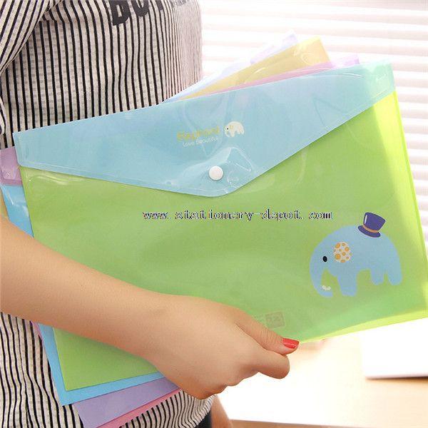zipper file folder bag