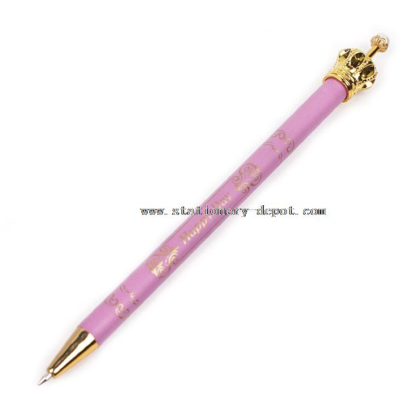 Advertising Crown Ball Pen