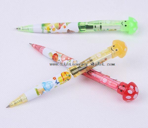 Novelty Plastic Pen with Light