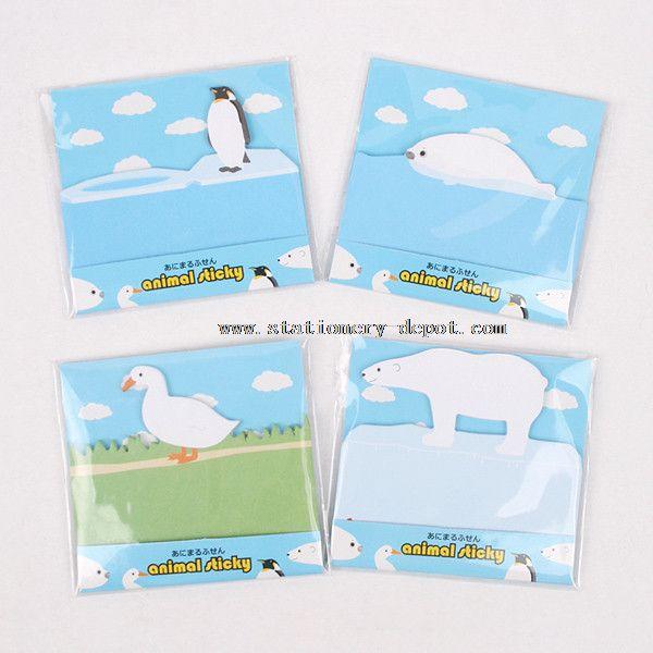 Animal Design Sticky Note Pads