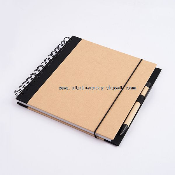 Cardboard Cover Notebook