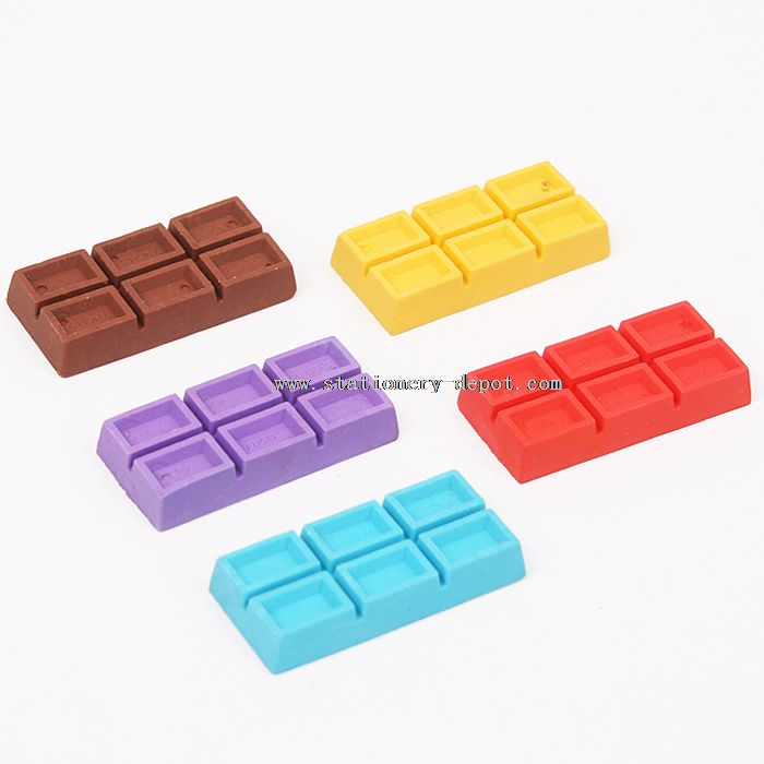 Chocolate Shape Cute 3D Scented Eraser