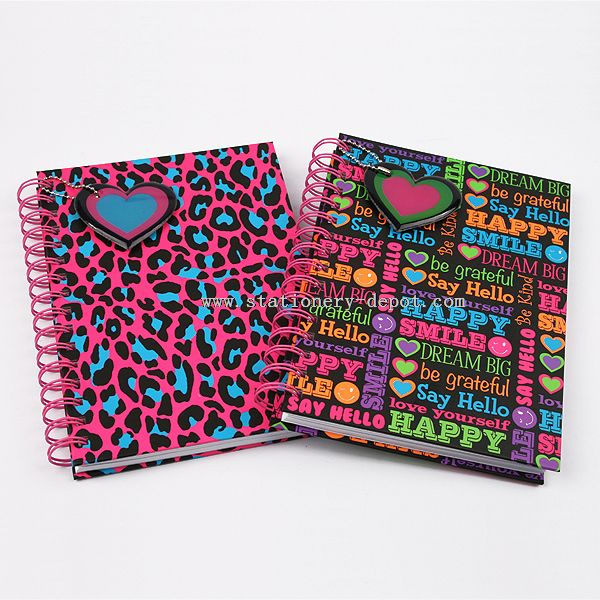 Colorful Spiral Note Book