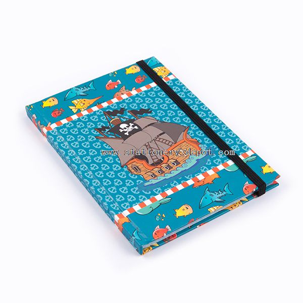 Hardcover Printed Notebook