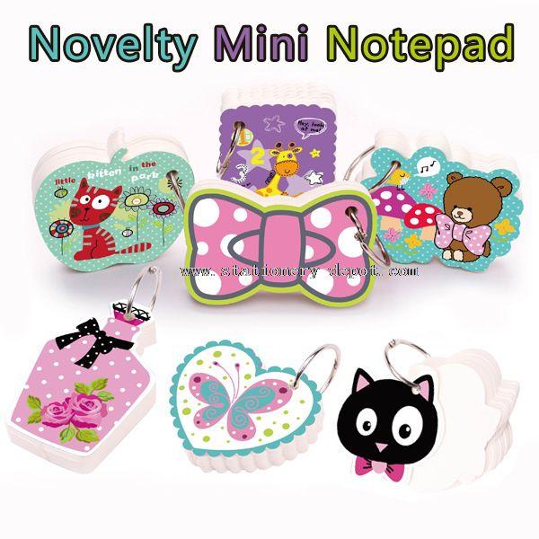 Mini Novelty Notepad