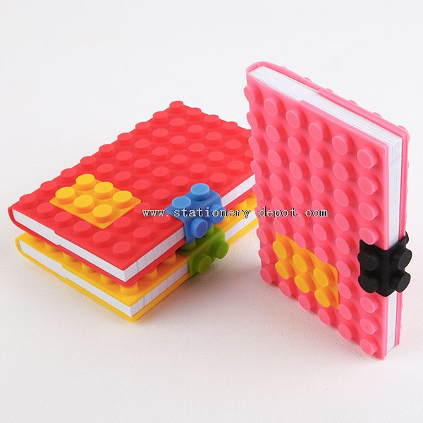 Softcover Silicone Notebook