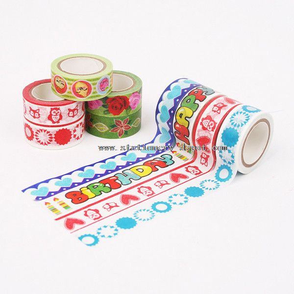 Tape Made with Japanese Washi Material