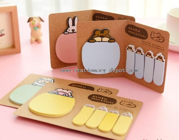 cute colorful sticky note