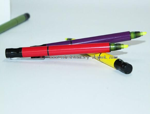 environmental flower highlighter pen