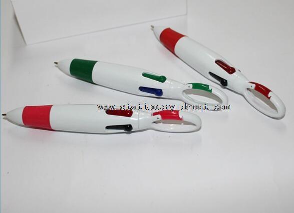 plastic multi color pen