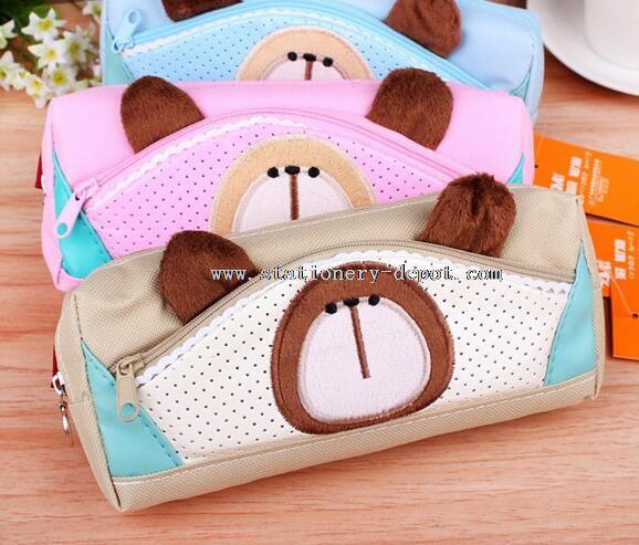 animal shaped stationery bag