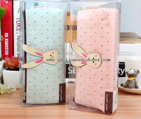 cotton fabric school pencil boxes and cases