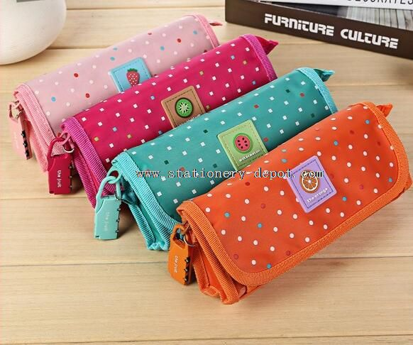 double sided oxford pencil cases