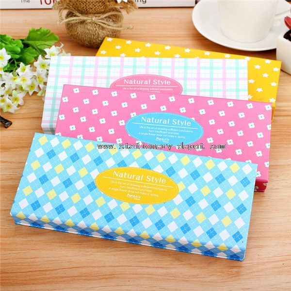 novelty paper pencil box
