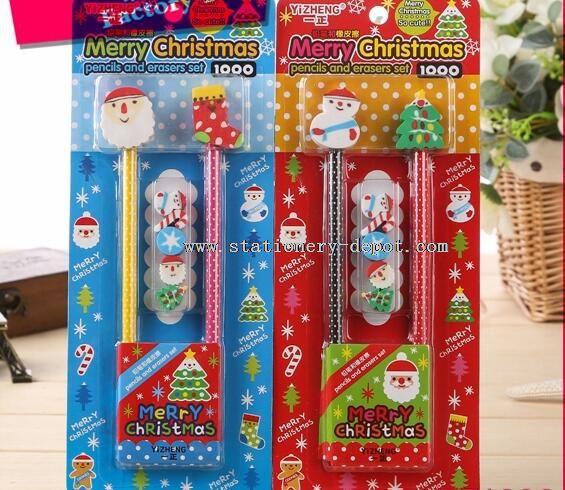 pencil eraser kids stationery set