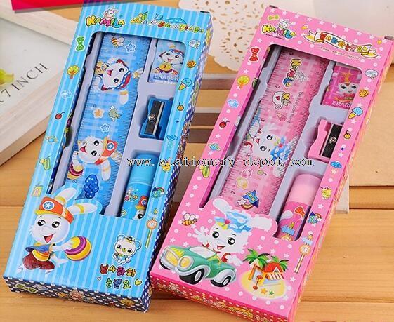 pencil sharpener plastic ruler sets