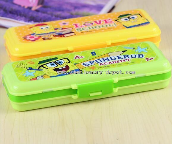 plastic folding pencil case