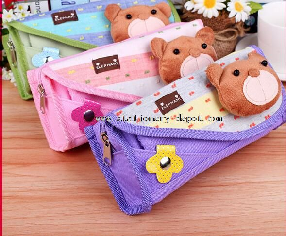 promotional pencil stationery bag