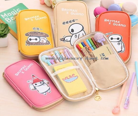 PU leather pencil bags