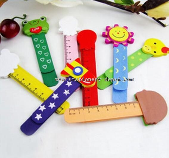 wooden bookmark funny ruler