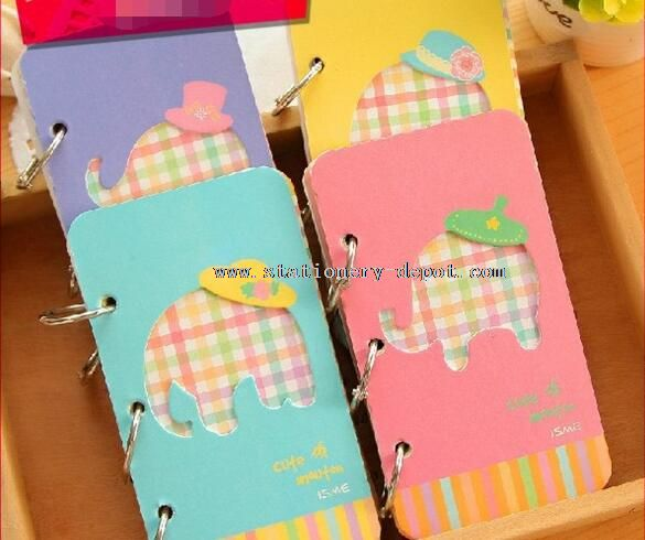 elephant cover design daily planner