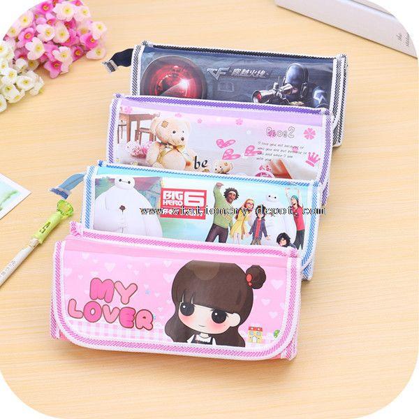 fabric animal pencil case