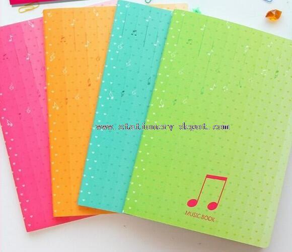 kraft paper blank notebook