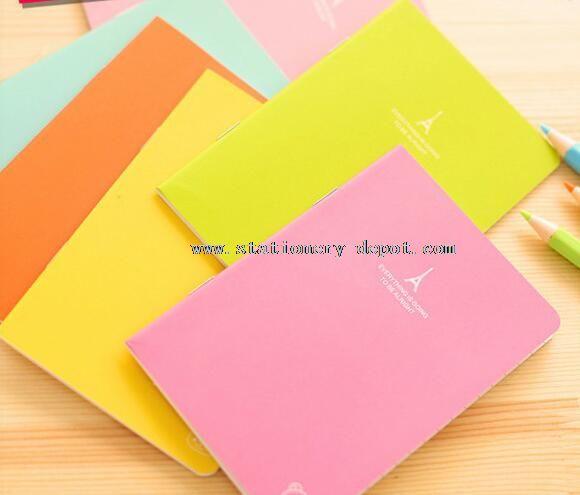kraft paper blank notebook printing