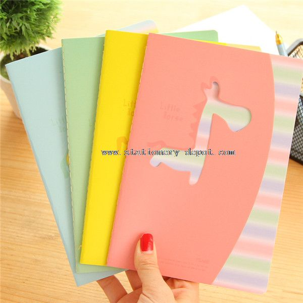 little lovely horse dairy notebook