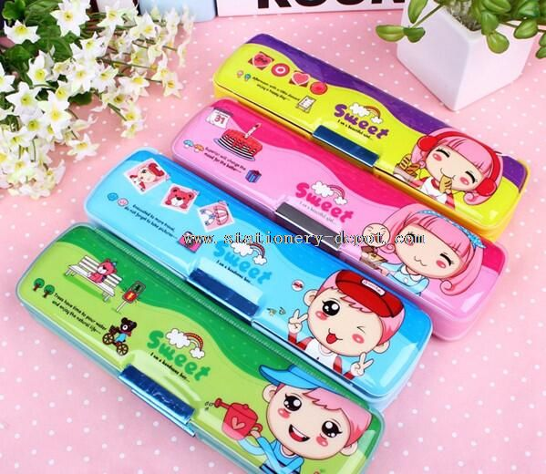 Lovely cartoon design cool pencil case