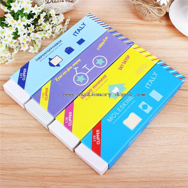 paper pencil case set