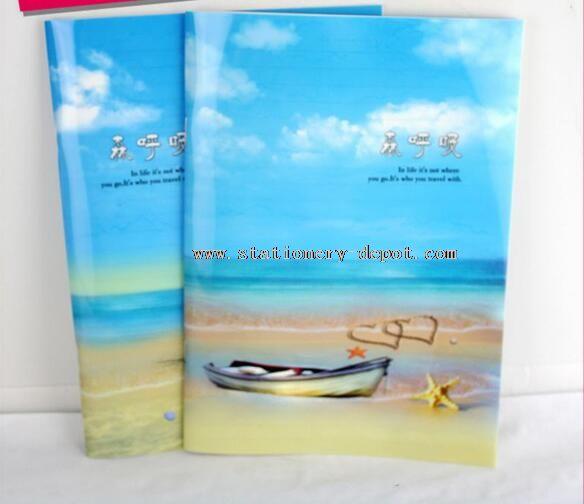 Print Cover Cheap Paper School Notebook