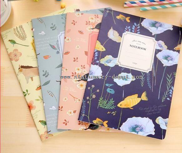 recycled korean notebook
