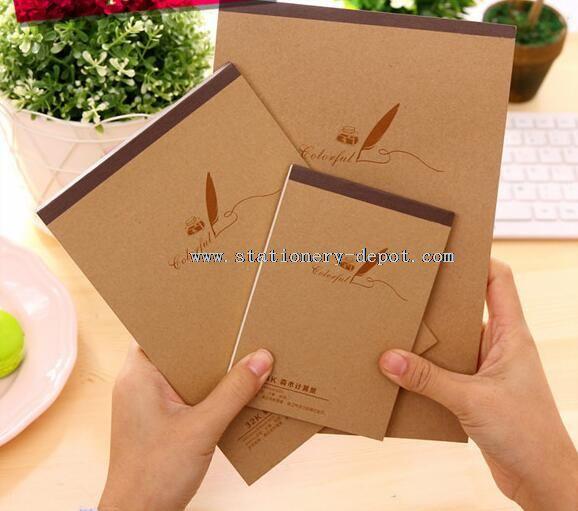 school cheap plain notebooks