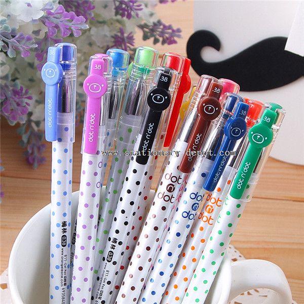 12 different colors magic gel pen