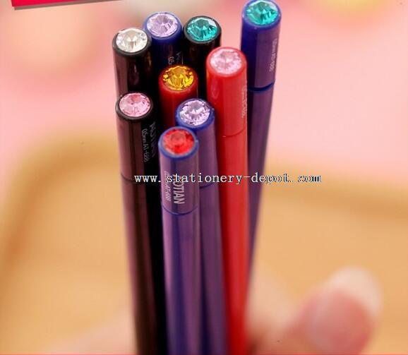 cartoon plastic gel pens