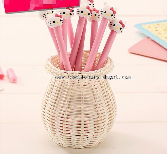 cat soft silicone 36 pcs gel pen