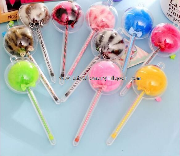 fancy girls fashion cartoon pens