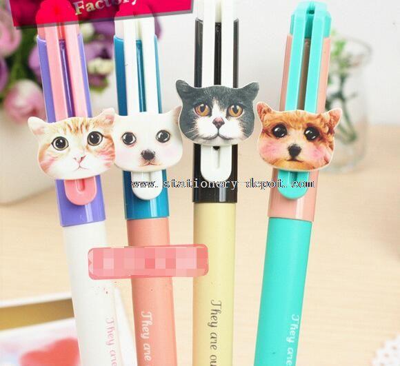 promotional color glitter gel pen