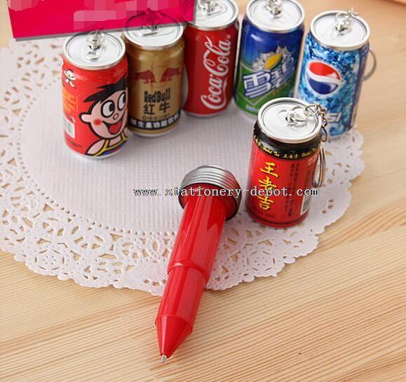 bottle shaped ballpoint pen