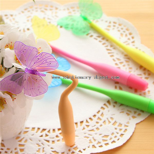 butterfly silicone pen