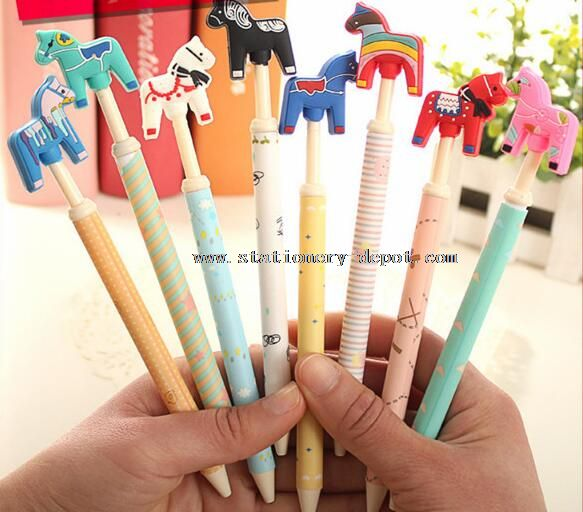 cartoon animal ball pen