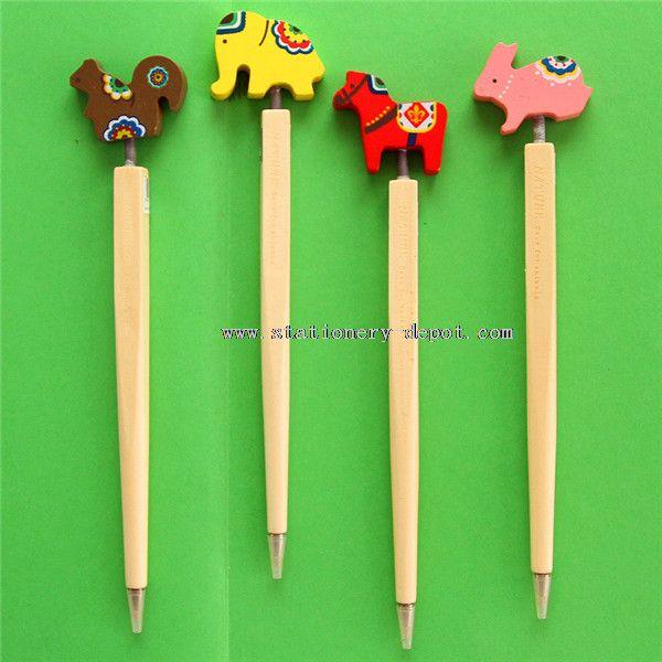 wood pen mixed colors