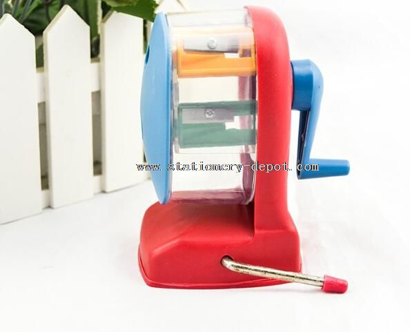 double blades pencil sharpener