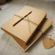 nature blank kraft paper notebook images