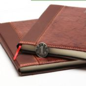 hardcover pu leather notebook images