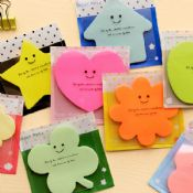 In Different Animal Shaped Sticky Notes images